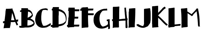 handrelief Font LOWERCASE