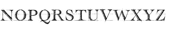 handwriting-draft_free-version Font UPPERCASE