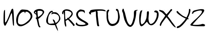 handzpyd-demo Font UPPERCASE