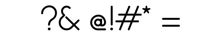 hankenround-Regular Font OTHER CHARS