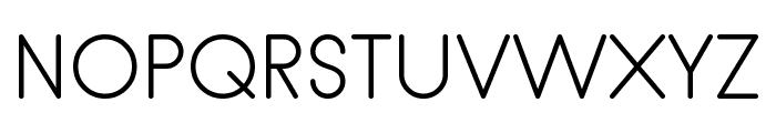 hankenround-Regular Font UPPERCASE