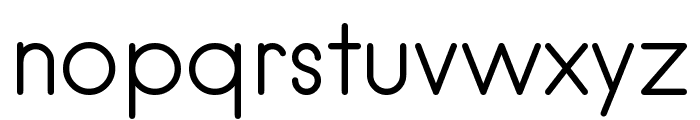 hankenround-Regular Font LOWERCASE