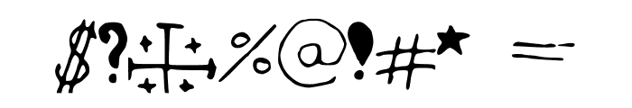 hannahfont Font OTHER CHARS
