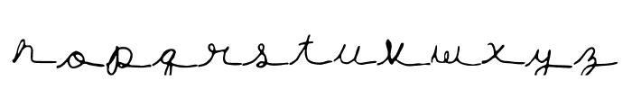 hannahfont Font LOWERCASE