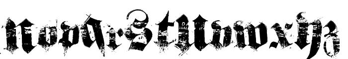 hardcorium Font LOWERCASE