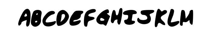 hassina Font UPPERCASE