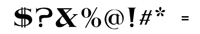 Jasper WF Font OTHER CHARS