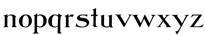 Jasper WF Font LOWERCASE