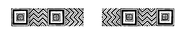 Steam Border Medium Aztec Font OTHER CHARS