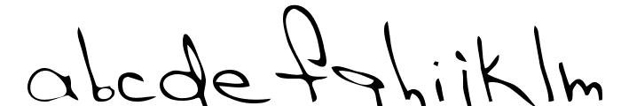 Hak Regular Font LOWERCASE