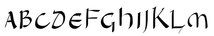 Hanyi Senty Tang Type Font UPPERCASE