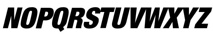 HarvestItal Regular Font UPPERCASE