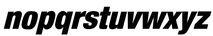 HarvestItal Regular Font LOWERCASE