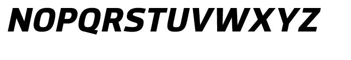 Hackman Heavy Italic Font UPPERCASE