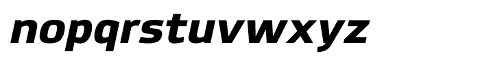 Hackman Heavy Italic Font LOWERCASE
