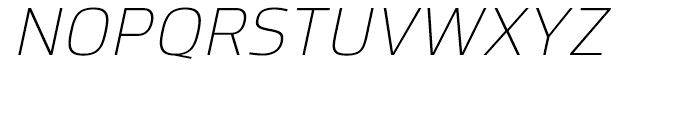 Hackman Light Italic Font UPPERCASE