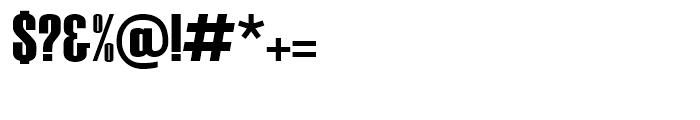Haettenschweiler Regular Font OTHER CHARS