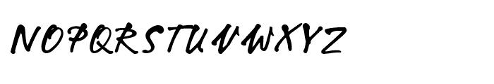 Hakim Ghazali Regular Font UPPERCASE