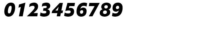 Halifax ExtraBold Italic Font OTHER CHARS