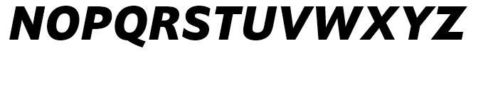 Halifax ExtraBold Italic Font UPPERCASE
