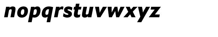 Halifax ExtraBold Italic Font LOWERCASE