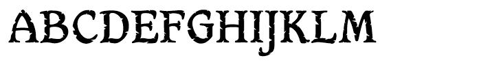 Hamlet Headstone Regular Font UPPERCASE