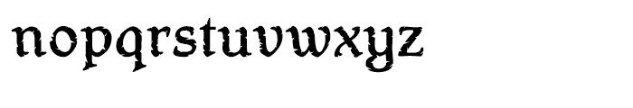 Hamlet Headstone Regular Font LOWERCASE