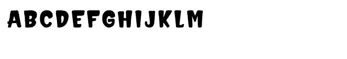 Hammerhead Bold Font LOWERCASE
