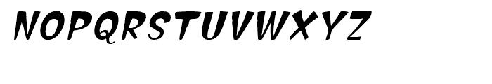 Hammerhead Oblique Font UPPERCASE