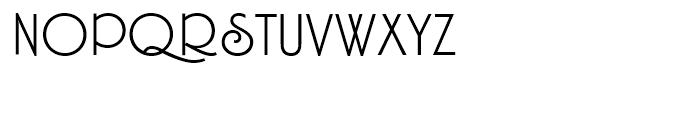 Hamptons BF Light Font UPPERCASE