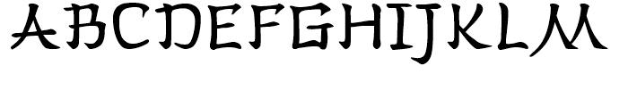 Han Zi Regular Font - What Font Is