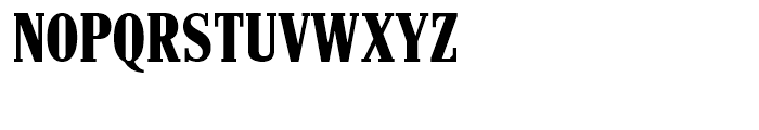 Hancock Condensed Bold Font UPPERCASE