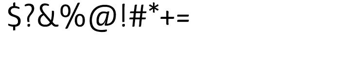 Haptic Semi Light Font OTHER CHARS