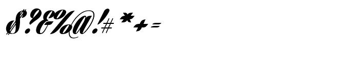 Harbell Regular Font OTHER CHARS