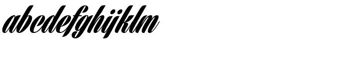 Harbell Regular Font LOWERCASE