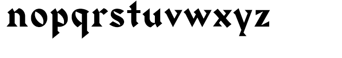 Harbour Medium Font LOWERCASE