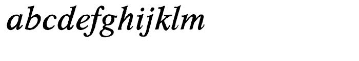 Hard Times Italic Font LOWERCASE