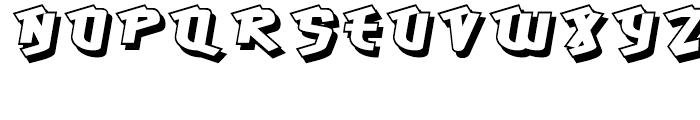 Hawkeye Regular Font UPPERCASE