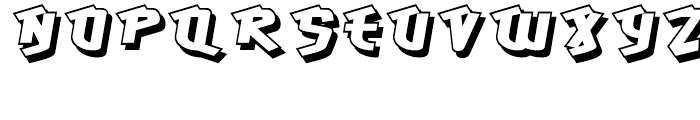 Hawkeye Regular Font LOWERCASE