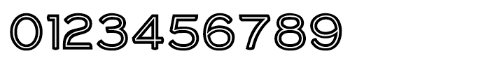 Haymer Small Capitals Inline Font OTHER CHARS