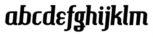 Hamburger Heaven NF Pro Regular Font LOWERCASE