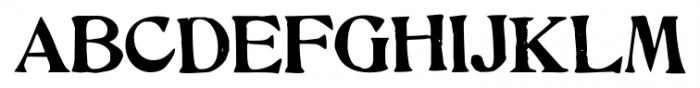 Hand Stamped JNL Regular Font UPPERCASE