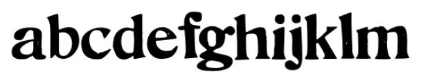Hand Stamped JNL Regular Font LOWERCASE