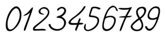 Handschrift Cursive Font OTHER CHARS