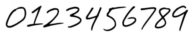 Handschrift Print Font OTHER CHARS
