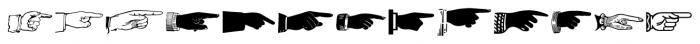 Handy Dandies JNL Regular Font UPPERCASE