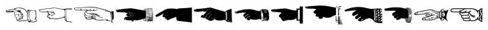Handy Dandies JNL Regular Font LOWERCASE