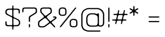 Hazelnut Pro Light Font OTHER CHARS