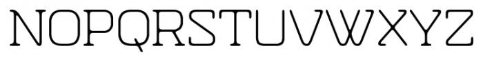 Hazelnut Pro Light Font UPPERCASE