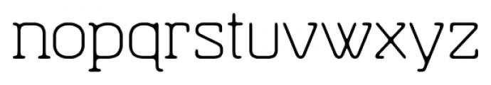 Hazelnut Pro Light Font LOWERCASE